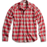 Lucky Brand Woodspur Western Shirt Mens - Red/Heather