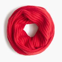 Ribbed infinity scarf