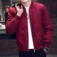 Spring Bomber - Men's Casual Jacket
