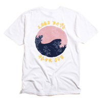 Waves T-Shirt White