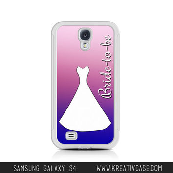 Wedding Samsung Galaxy S4 Case, Samsung S3 Case, Wedding Gift, Anniversary Gift, Bride-to-be Phone Case, Note 2, Note 3 Phone Cover - K277