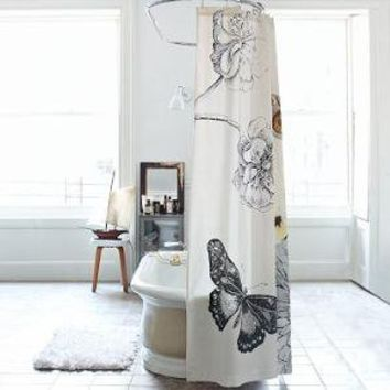 Butterfly Shower Curtain | west elm