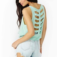 Spine Chill Crop Tank