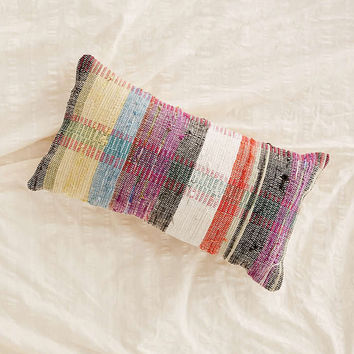 Cabin Plaid Bolster Pillow - Urban Outfitters