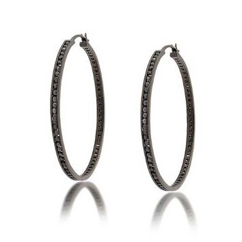 Bling Jewelry Into Eternity Hoops