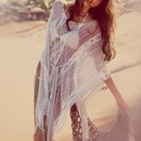 Runaway Lace Kaftan at Free People Clothing Boutique