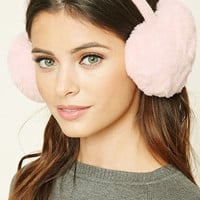 Faux Fur Heart Ear Muffs