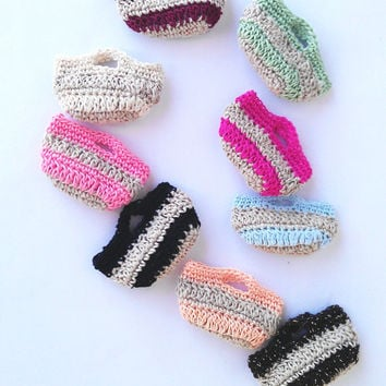 Little Purses Garland, Home Decor, Mini Bags Garland, Party Garland, Choose Your Color,