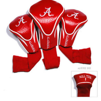 NCAA Team Golf 3 Pk Contour Sock Headcovers