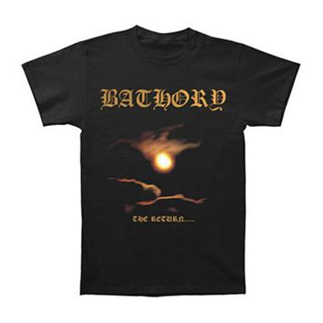 Bathory Men's  The Return T-shirt Black