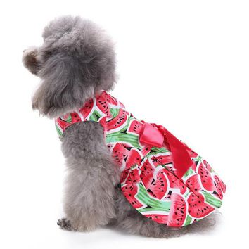 Watermelon Doggy Dress