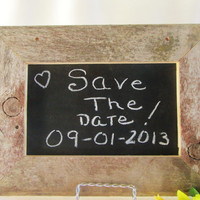 Wedding Chalk Boards, Framed Chalk Boards, Chalk Board Signs, Rustic Frame