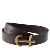 ASOS Leather Anchor Buckle Belt