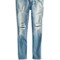 AEO 's Hi-rise Jegging Crop (Medium Destroyed)