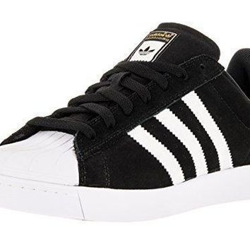 Adidas Superstar Vulc ADV Skate Shoes - Black White Gold 7cc079d13