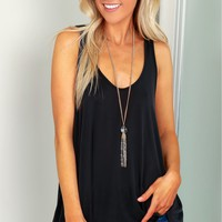 Casual Tank Top Black