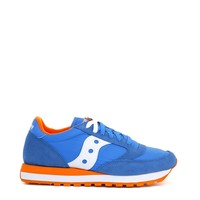 Saucony Blue Suede Sneakers