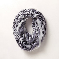 Blue Willow Infinity Scarf