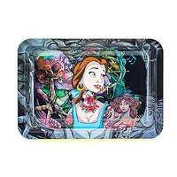 Bella Burning Metal Rolling Tray