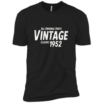 65th Birthday Gift T-Shirt Vintage Classic 1952