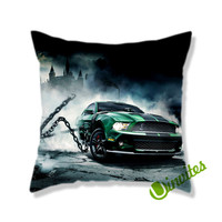 Mustang GT500 Square Pillow Cover