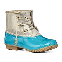 Chloe Duck Boot in Caribbean Blue by Jack Rogers - FINAL SALE