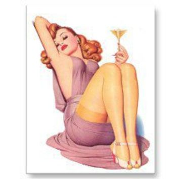 Vintage Pin Up Girl Postcards