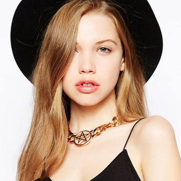 Shiny Stylish New Arrival Gift Jewelry Star Chain Necklace [4956917252]