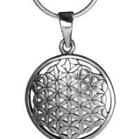 Flower of Life Pendant (Medium)