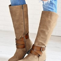 Sharpshooter Boots ~ Taupe
