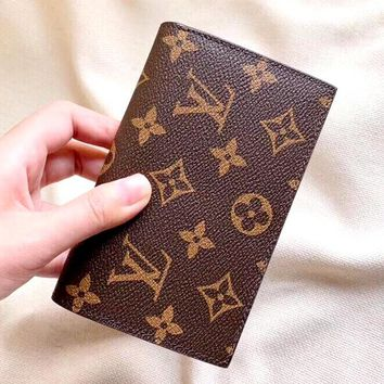 Free Shipping-LV Tide brand classic old flower female coin purse card holder