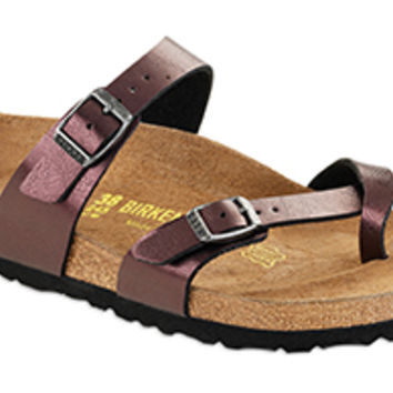 Mayari Raspberry Wine Birko-Flor Sandals | Birkenstock USA Official Site
