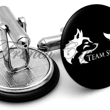 Game Thrones Team Snow Cufflinks