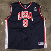 Vince Carter 2000 Dream Team USA Champion Jersey Navy (Size 48 / XL)