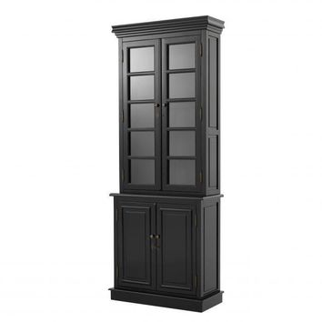 Black Display Cabinet | Eichholtz Tiber