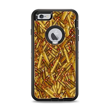 The Bullets Overlay Apple iPhone 6 Plus Otterbox Defender Case Skin Set