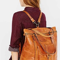 Frye Josie Backpack Tote Bag- Brown One