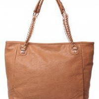 Double Chain Strap Tote