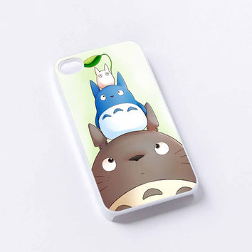 Totoro And Friends 2 iPhone 4/4S, 5/5S, 5C,6,6plus,and Samsung s3,s4,s5,s6