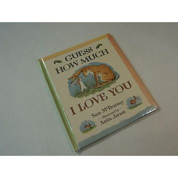 Candlewick Press Guess How Much I Love You Anita Jeram Book Hardcover -- Used
