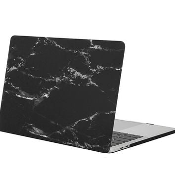 Marble Pattern Hard Cover Plastic Case for Macbook