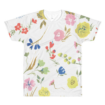 So into this design on Fab! Folk Floral Tee #FabForAll