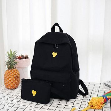 Cool Backpack school COOL WALKER Female Bag Quality Canvas women's bag backpacks Korean Style Students Travel Bag Girls School Bag Laptop Backpack AT_52_3