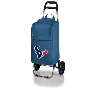 Houston Texans - Cart Cooler with Trolley (Navy)