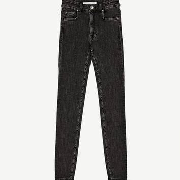 HIGH WAIST VINTAGE JEGGINGS - High Waist-JEANS-TRF | ZARA United States