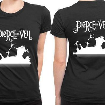 CREYH9S Pierce The Veil Cover 2 Sided Womens T Shirt