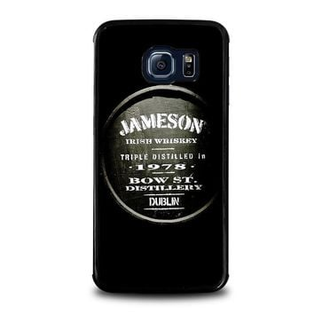 jameson whiskey samsung galaxy s6 edge case cover  number 1