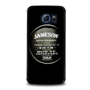 jameson whiskey samsung galaxy s6 edge case cover  number 2