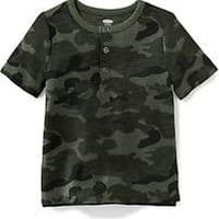 Printed Henley for Toddler Boys   Old Navy