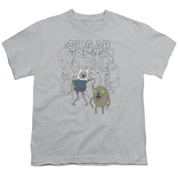 Adventure Time Sugar Zombies Youth T Shirt